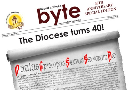 40th Anniversary Special Edition of the Inland Catholic Byte