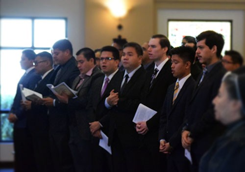 New seminarians welcomed to Serra House
