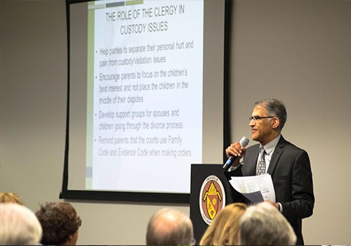 Court-Clergy Conference held at Diocesan Pastoral Center