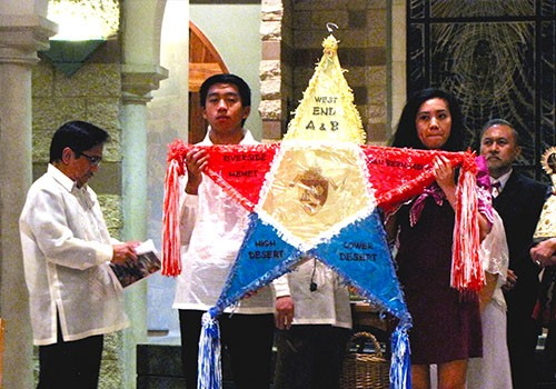 Bishop Barnes celebrates start of Simbang Gabi with Filipino community