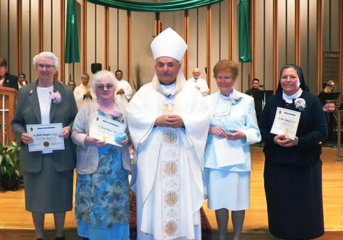 Bishop Barnes gathers with Religious for World Day of Consecrated Life